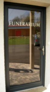 Porte d'entrée Mixte bois/alu face extérieure